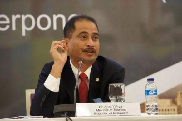 ▲印尼旅游部长阿里耶夫