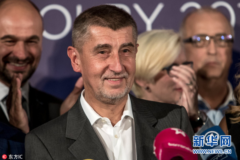 捷克右翼政党赢得议会选举 亿万富豪有望成总理