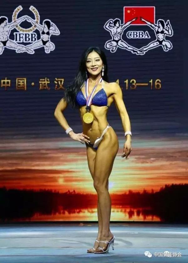孙岚参加全国健身竞标赛获奖照片。 本文图均为 孙岚 供图