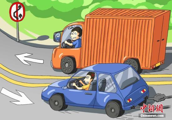外媒:开车时化妆、吃早餐?人为过失车祸可预防