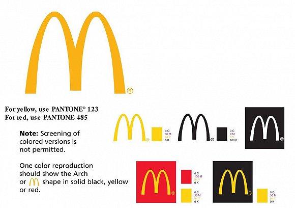 金拱门是麦当劳的经典logo