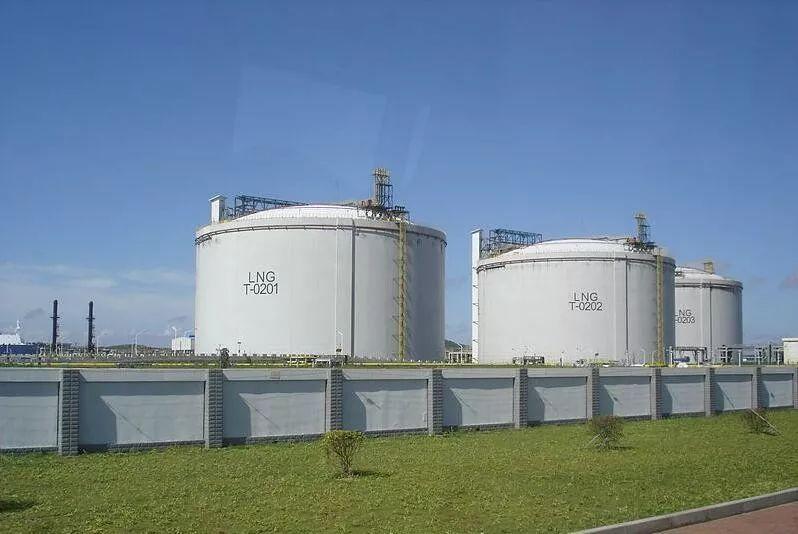 ▲洋山深水港液化天然气码头