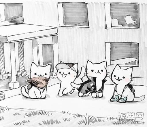 """喵星人""""吃鸡""""第二弹 玩家绘猫咪版《绝地求生》漫画"""