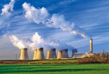 ▲天然气是许多火力发电厂的首选燃料。