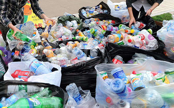 饮料瓶占城市生活垃圾三成多。
