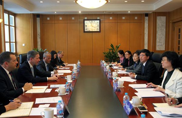 家知识产权局副局长张茂于会见德国博世集团副