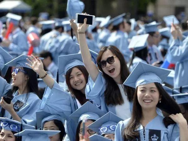 ▲资料图片:中国留学生