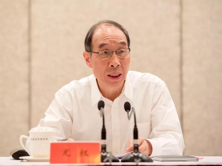 10月28日,福建省召开领导干部大会,中央书记处书记尤权主持并讲话。