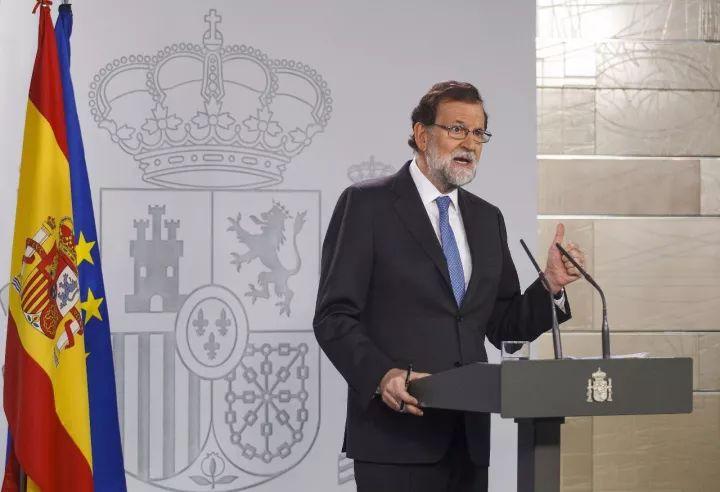 △西班牙首相宣布解除加泰主席职务并解散自治区议会
