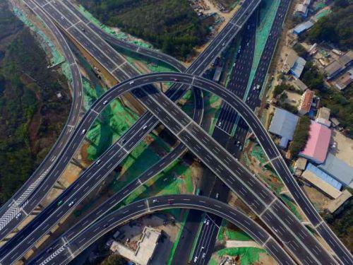 济南最�y.)y�d�d%_济南最高立交桥通车,二环西路由此通往绕城高速