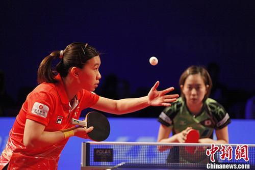 日本名将石川佳纯女乒世界杯爆冷落马|世界杯