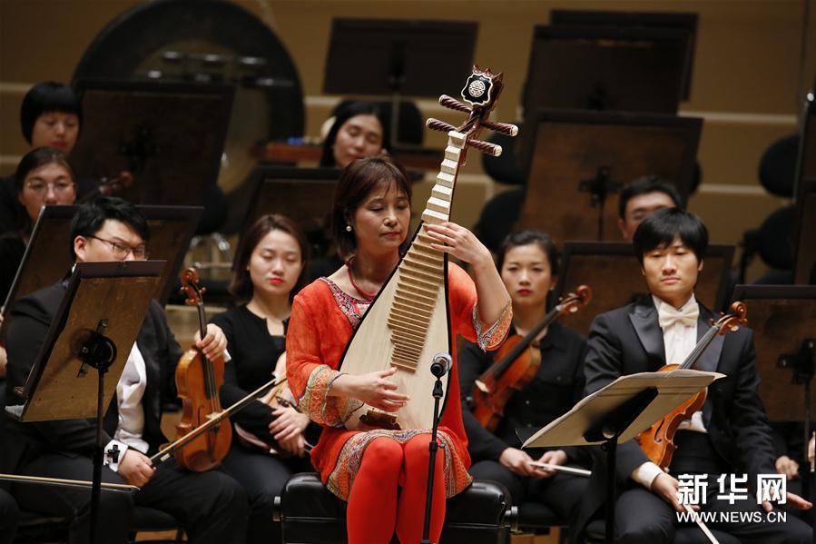 中国国家大剧院管弦乐团在芝加哥开启美国巡演