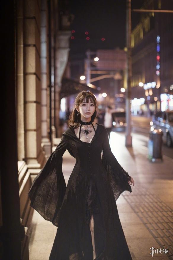 史上最甜女巫!韩国第一美女Yurisa万圣节变身暗黑风