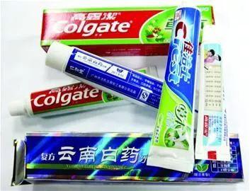 △资料图:假冒牙膏(图自网络)