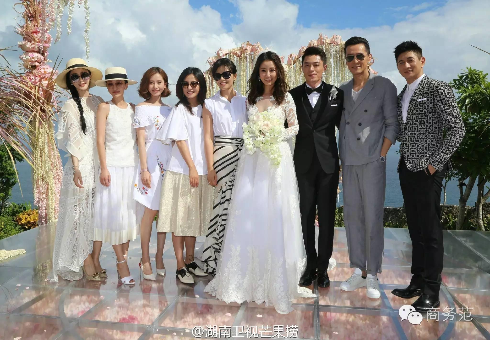 商务范:章子怡参加双宋婚礼被喷,到底穿什么才得体