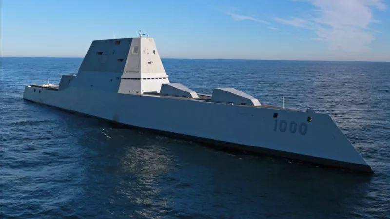 ▲美国朱姆沃尔特级驱逐舰(视觉中国)