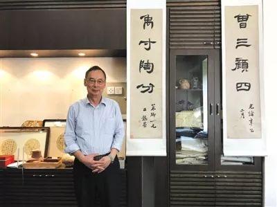 2017年6月15日,朱清时在中国科技大学办公室里。新京报记者 付珊 摄