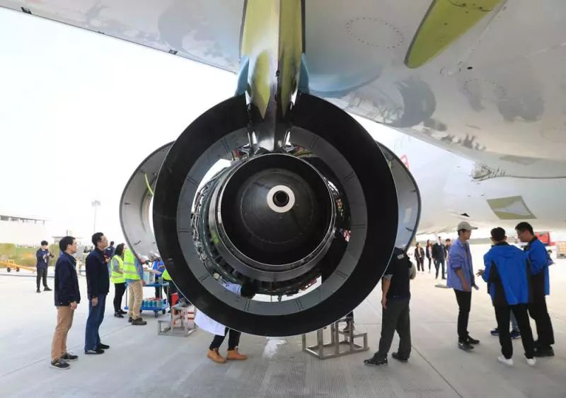 国产大飞机c919近期密集试飞,因为.