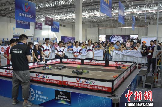 亚洲机器人锦标赛中国区选拔赛在珠海落幕