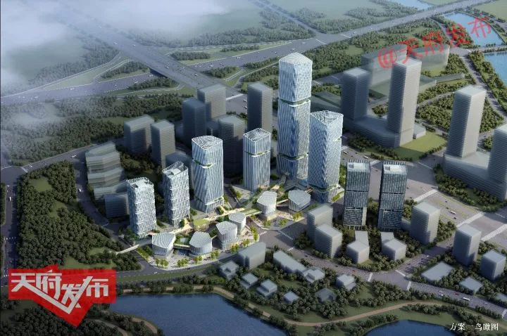 成都空港新城规划图483