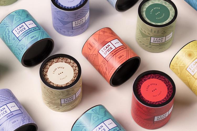 这个香料品牌的包装,鼓励人们用更勇敢的方式使用它