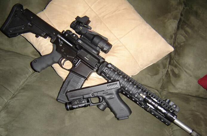 AR-15式步枪(资料图)