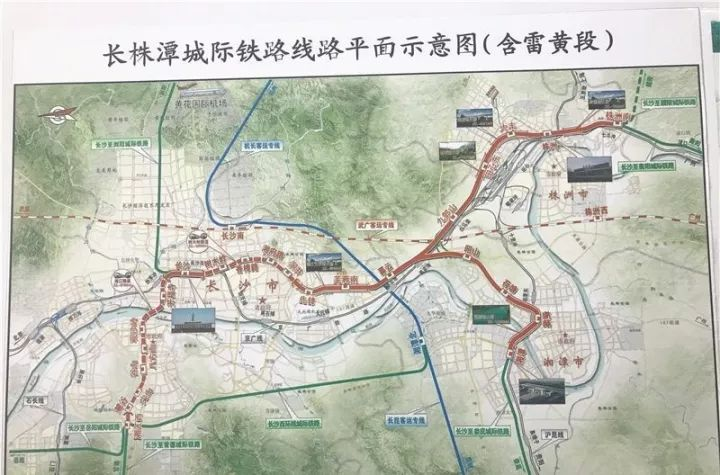 长22公里,设7站,与地铁1号线换乘(图/掌上长沙)