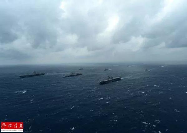 """▲资料图片:7月10日,美国、印度和日本在孟加拉湾举行""""马拉巴尔""""年度海上联合军事演习。"""