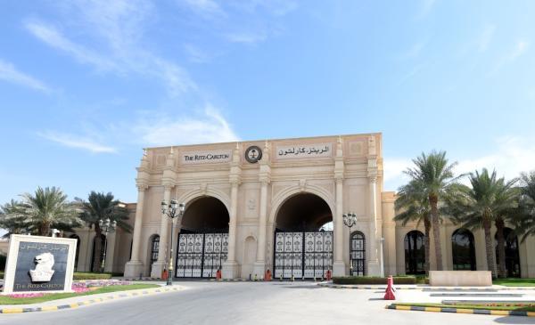 11月5日沙特阿拉伯利雅得丽思卡尔顿酒店。  新华社 图