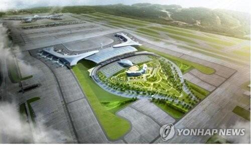 图注:仁川机场第二航站楼鸟瞰图