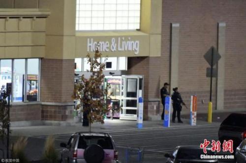 质料图:美一超市爆发枪击工作。