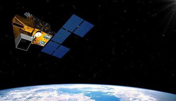 资料图:德国军方的太阳神-2A光学成像侦察卫星。
