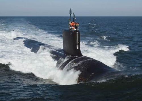 资料图:弗吉尼亚级核潜艇