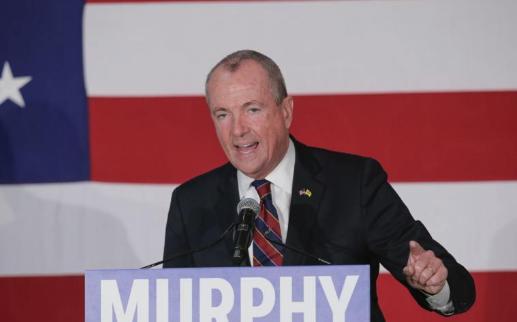 美国新泽西州新任州长墨菲(Phil Murphy)