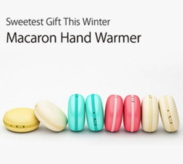 可爱的马卡龙造型暖宝。