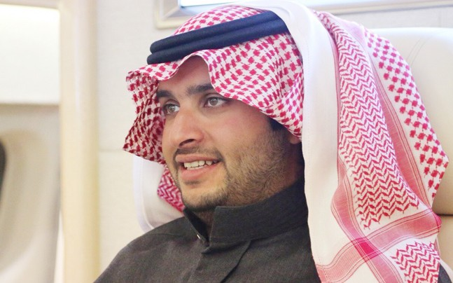 现任沙特国王的侄孙图尔基<span class=