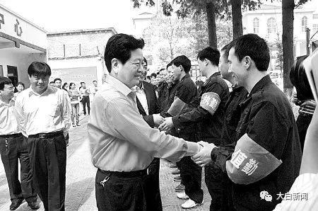 平顶山市委常委、市委政法委书记李永胜慰问基层巡防队员