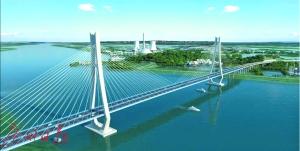 富龙西江特大桥效果图