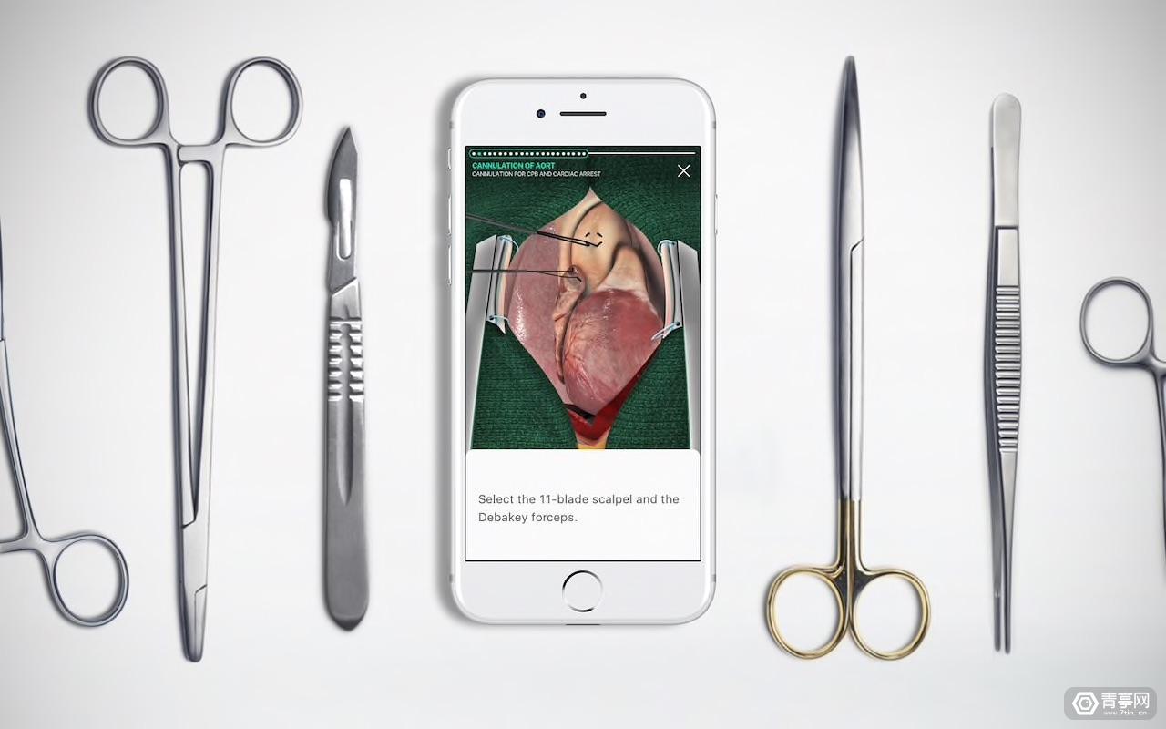 Touch Surgery融资2000万美元,提供HoloLens的AR医疗方案