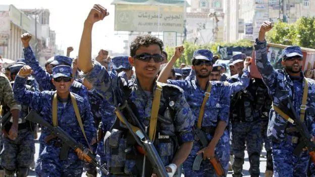 ▲也门胡塞武装(欧洲新闻社)