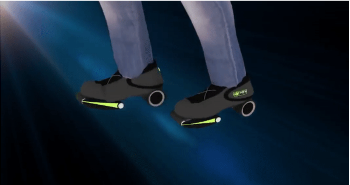 """有望在VR体验中提高运动能力的原型鞋""""Vortex""""官方已发起众筹"""