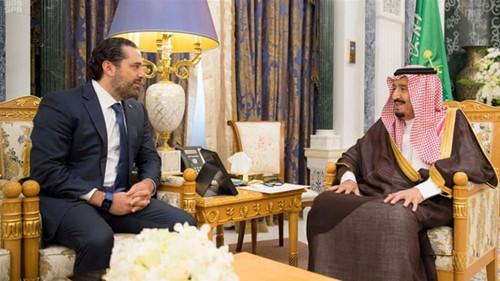 沙特国王11月6日会见黎巴嫩总理哈里里(路透)