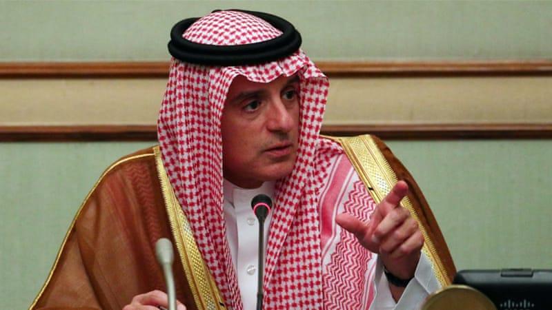 沙特外交部长指责伊朗(路透)