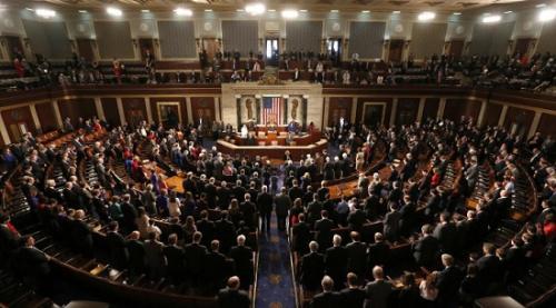 资料图:美国国会(图片来源:路透社)