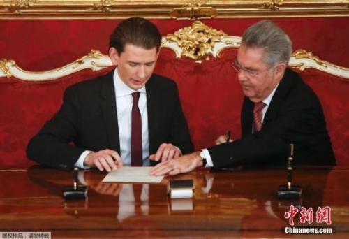 31岁的库尔茨(左)将成为欧洲最年轻的国家领导人。