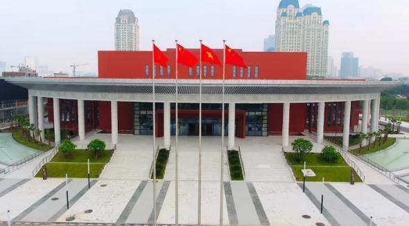 这是越中友谊宫。云南建投 提供