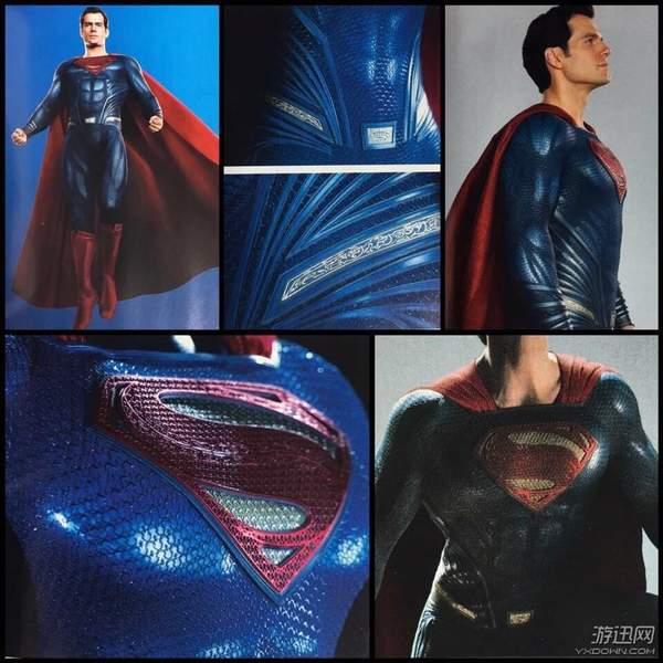 《正义联盟》超人新造型曝光 战衣紧绷,大胸肌太吸睛