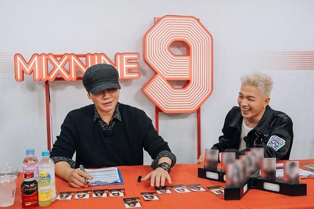 韩国YG娱乐社长梁炫锡和BIGBANG太阳。