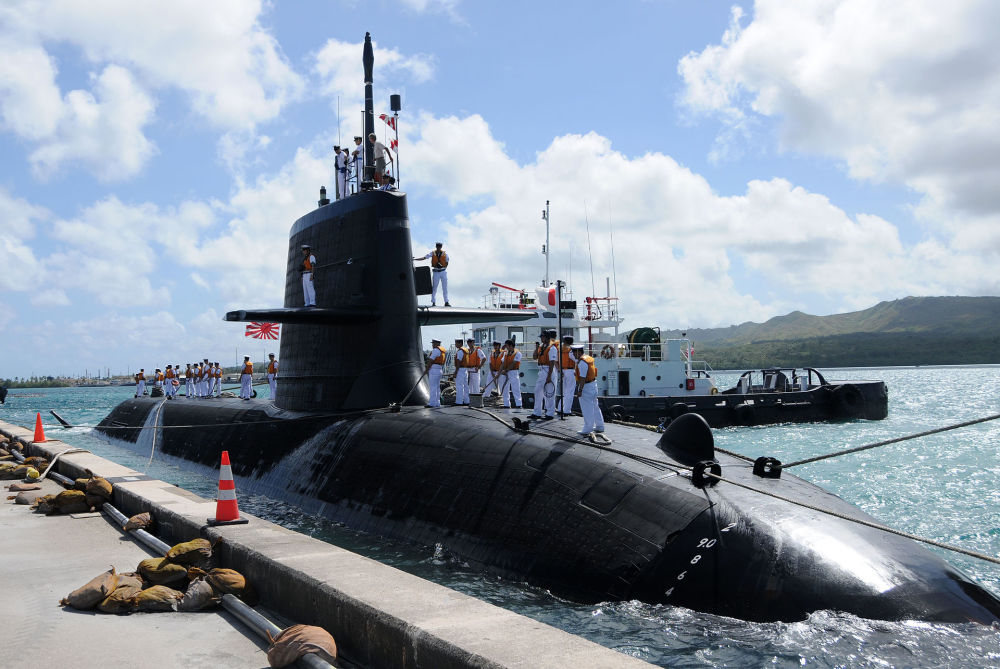 苍龙级SS-503艇在珍珠港