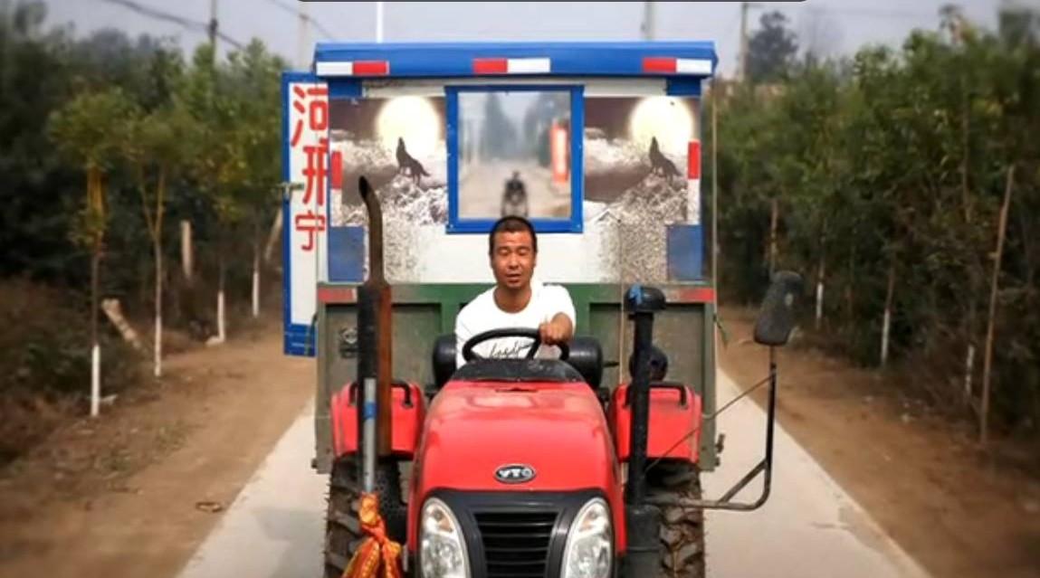 """小伙自制""""拖拉机房车""""游西藏历时百天,穿越五省"""